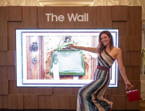 Η «Wall Luxury» της Samsung θα πρωταγωνιστεί στο Paris Fashion Week και στο Monaco Yacht Show