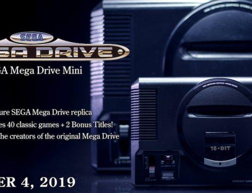 SEGA Mega Drive Mini: Η εμβληματική κονσόλα επιστρέφει με 2 χειριστήρια και HD Widescreen γραφικά