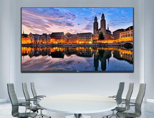 Η νέα οθόνη LED φέρνει την τάξη στις αίθουσες συναντήσεων