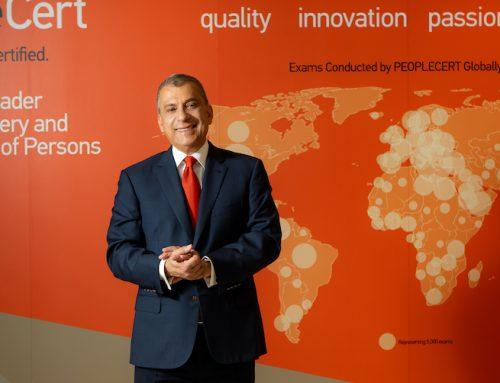 PeopleCert- Βύρων Νικολαΐδης Εθνικοί Νικητές του Ηνωμένου Βασιλείου στα European Business Awards 2019