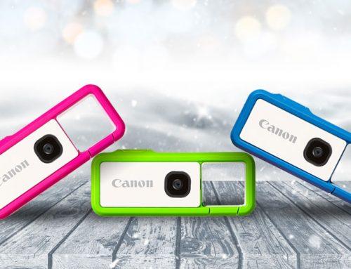 Canon IVY REC: Το τέλειο χριστουγεννιάτικο δώρο για κάθε λάτρη της περιπέτειας!