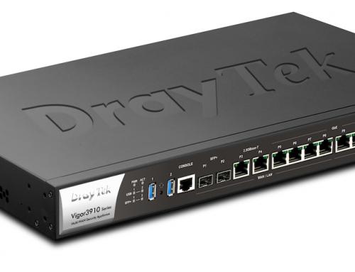 Vigor3910: Ο νέος πανίσχυρος VPN concentrator της DrayTek για συνδέσεις 10G, είναι εδώ!
