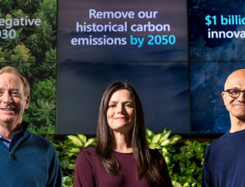 Microsoft: Aρνητικό αποτύπωμα άνθρακα ως το 2030