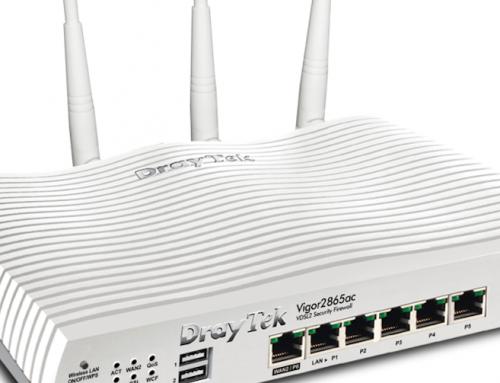 DrayTek Vigor2865series: Νέα σειρά load balancing VDSL2 router με υποστήριξη 35b Super Vectoring!