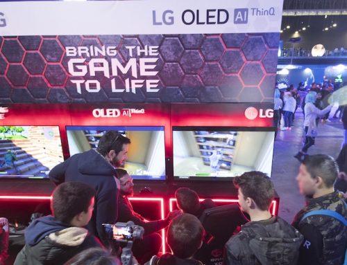 Η LG με OLED TVs και gaming monitors στο φετινό Gameathlon Winter 2020