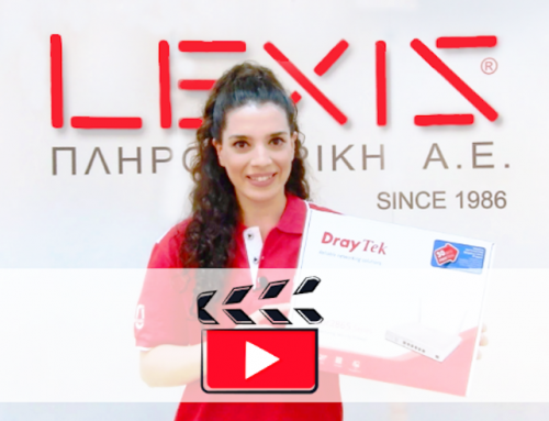 Unboxing Video: DrayTek Vigor2865 από τη LEXIS