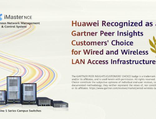 """Η Huawei αναδείχθηκε """"Gartner Peer Insights Customers' Choice"""" για τον Ιανουάριο 2020"""