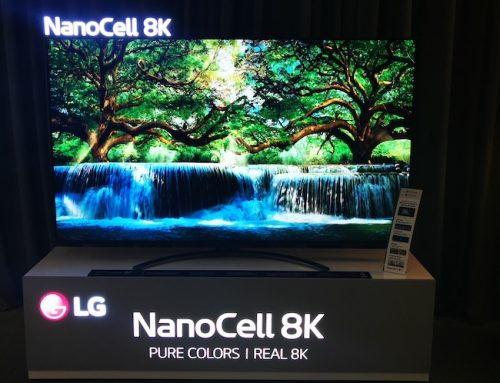 Η LG συμμετείχε στο HXOS EIKONA SHOW 2020 με την 8K NanoCell τηλεόραση