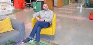 Ο Pay TV Manager της Vodafone Ελλάδας, Ανδρέας Γεωργιάδης.