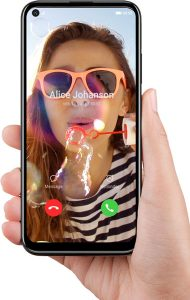 Huawei P40 lite E video call