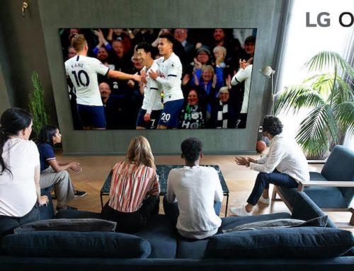 Η LG κινηματογράφησε πρώτη σε ανάλυση 8Κ τον αγώνα Tottenham Hotspur Premier League