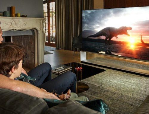 """""""Αποδράστε"""" στο σπίτι με LG OLED τηλεοράσεις"""