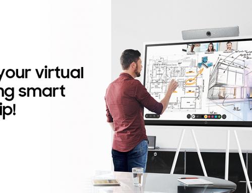 Το Μέλλον της Εργασίας σε μια Οθόνη από τη Samsung Electronics Hellas και τη Cisco