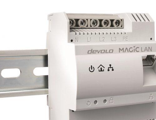 devolo Magic 2 LAN DINrail: Ταχύτατο Internet κατευθείαν από τον ηλεκτρολογικό πίνακα!