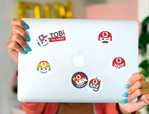 Η Vodafone αξιοποιεί την τεχνητή νοημοσύνη και φέρνει τον TOBi