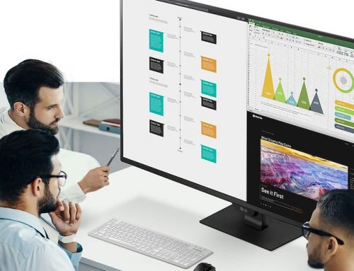 Aναβαθμίστε την εργασιακή σας απόδοση και την gaming εμπειρία με το νέο LG UHD 4K monitor