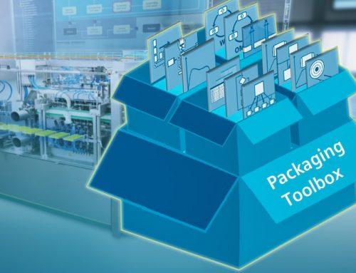 Το Packaging Toolbox επιτρέπει την εύκολη σχεδίαση και κατασκευή μηχανών συσκευασίας