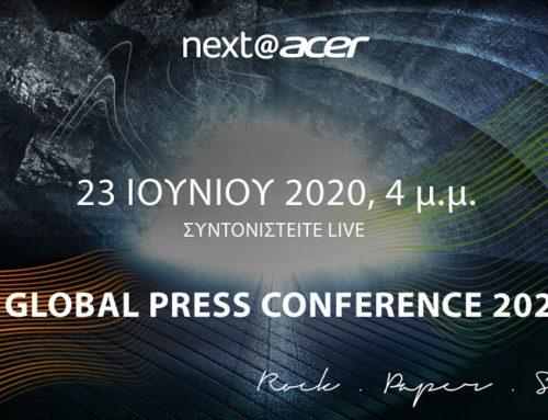 Δείτε live την Global Press Conference 2020 της Acer