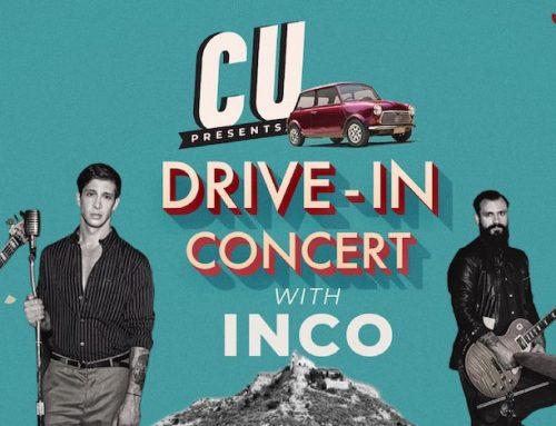 Το πρώτο CU Drive-In Concert στις 26 Ιουνίου στον Λυκαβηττό παρουσιάζει σε ένα μοναδικό live τους INCO