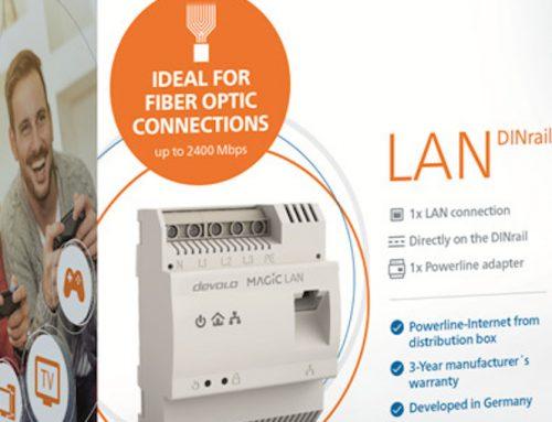 devolo Magic 2 LAN DINrail: Ταχύτατο Internet κατευθείαν από την πηγή