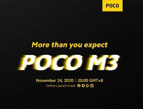 Παρακολουθήστε την παγκόσμια πρεμιέρα του νέου POCO M3