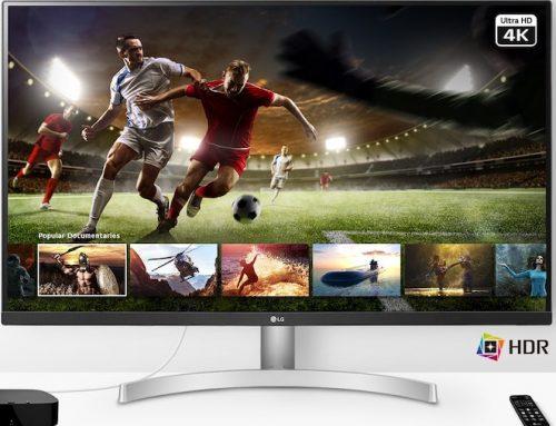 Το νέο monitor 32UN500 της LG υπόσχεται να προσφέρει μια καθηλωτική οπτικοακουστική εμπειρία
