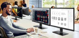 Μέγιστη παραγωγικότητα και μειωμένο κόστος συντήρησης από το νέο LG Thin Client All-in-One monitor 24 CK550W