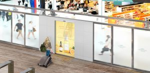 Η LG και η ASSA ABLOY συνεργάζονται για τη δημιουργία της πρώτης Transparent  OLED Automatic door