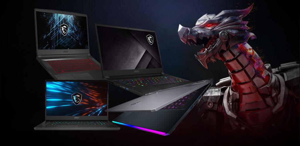 MSI Ampere Gaming Laptops