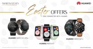 Huawei Easter Offers 2021: Ώρα να κάνεις δικά σου ένα ζευγάρι noise-canceling ακουστικά και ένα hi-tech smartwatch