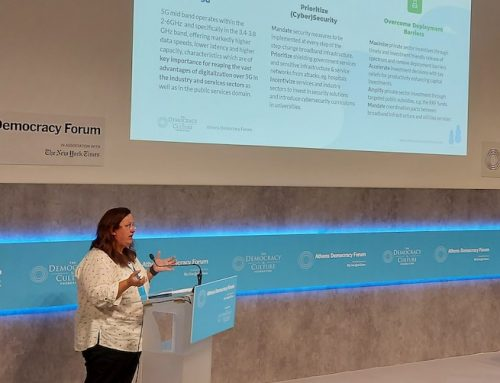 H Ericsson υπογραμμίζει τη σημασία του 5G για την Ελλάδα στο Athens Democracy Forum
