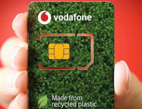 Η Vodafone φέρνει τις Eco-SIM, τις νέες οικολογικές κάρτες SIM που είναι κατασκευασμένες από ανακυκλωμένο πλαστικό